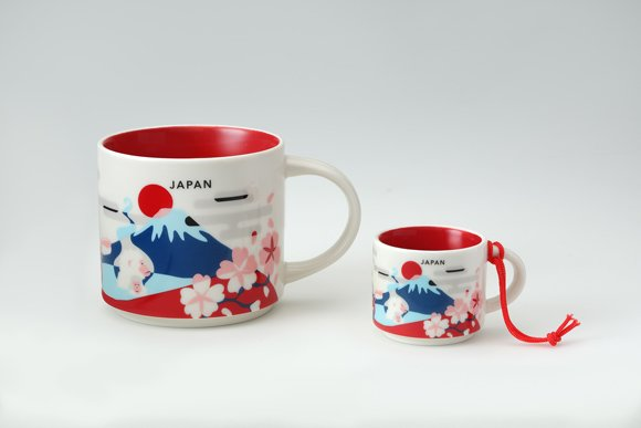 日本旅遊必買的星巴克日本限定「You Are Here Collection」馬克杯迷你杯